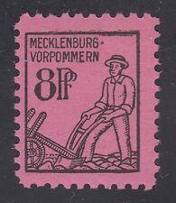 GERMANY, Soviet Zone, 1945. Mecklenburg Mi 12, III,  Mint **