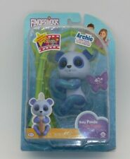 Wowwee Fingerlings Baby Glittery Blue Panda - ARCHIE NEW