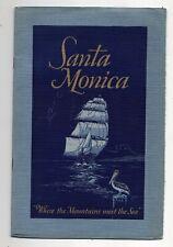 Early 1900's, Santa Monica, California Booklet