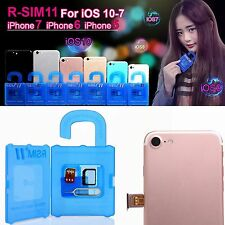 R-SIM11 Cloud Unlock Nano Card for iPhone 7&6S&6&5 IOS10.X&9.X&8.X&7 #BUS