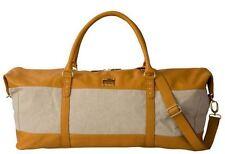 NEW - Miche Vienna Duffle Bag in Oatmeal and Butterscotch, Gold Trim, Zipper