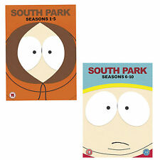 South Park the complete season 1, 2, 3, 4, 5, 6, 7, 8, 9 & 10 DVD box set R4 New