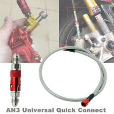 AN3 Motorcycle Bike Hydraulic Brake Light Switch Bolt Thread Pitch Quick Connect