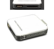 NEW 2200MAH EXTERNAL WHITE BATTERY BACKUP CHARGER USB IPHONE 4S 4 3GS IPOD TOUCH