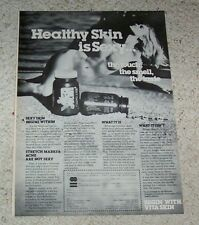 1977 ad page - Vita Skin SEXY nude GIRL vintage Nature Labs ADVERTISING Page