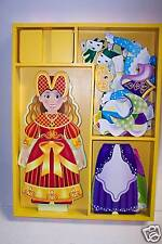 Melissa & Doug Magnetic Dress-up Princess Elise