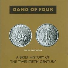 A Brief History of the Twentieth Century Gang of Four (CD, Jan-2004) USED