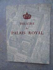 "Théâtre du Palais Royal "" Micmac"" 1959"