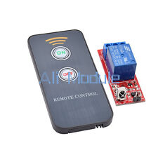 1 Channel Infrared Switch Relay Driving Module Board 12V Remote Controller UK