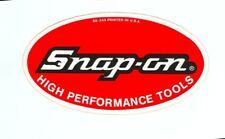 NEW Vintage Snap-on Tools Snap on Tool Box Sticker Decal Man Cave Old 60s SS548A