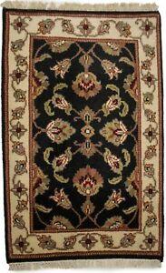 Classic Floral Design Small 2X3 Agra Jaipur Oriental Rug Kitchen Bathroom Carpet