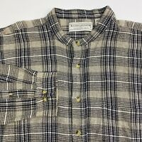 Natural Exchange Button Up Shirt Mens XLT Multicolor Plaid Long Sleeve Casual