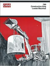 Equipment Brochure - Case - 780 Construction King Loader Backhoe c1971 (E3404)
