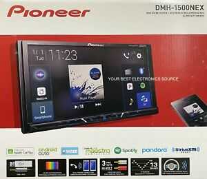 "NEW Pioneer DMH-1500NEX 2-DIN Digital Media Receiver, Bluetooth, 7"" Touchscreen"