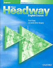 Oxford NEW HEADWAY Beginner Workbook (with key), 2002 Edition @BRAND NEW@
