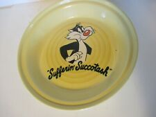 Vintage Homer Laughlin Fiesta 11 D Warner Brothers Sylvester the Cat Pie Pan