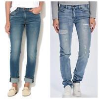 Levis 505c Women's blue Jeans BNWT RRP £95 Slim fit Straight Leg