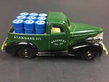 Chevron Die Cast  Lledo 1939 Pickup Standard Oil Refinery No. 21 Green Truck