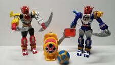 Power Rangers Ninja Storm BLUE & RED Lightning Megazords morpher Bandai