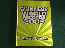 GUINNESS WORLD RECORDS RECORD 2009 BOOK WITH 3D GLASSES