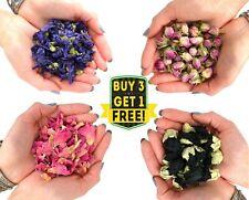 Dried Petals, Flowers, Rose, Cornflower, Lavender, Peony, Calendula, Jasmine etc