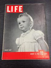 LIFE Magazine, August 14th 1939