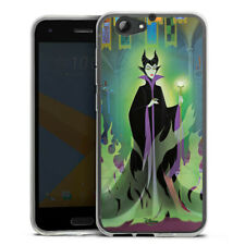 HTC One A9 s Silikon Hülle Case HandyHülle - Maleficent
