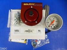 Auto Meter 4313 Ultra Lite Mechanical Fuel Pressure Gauge 2 1/16 0-15 PSI