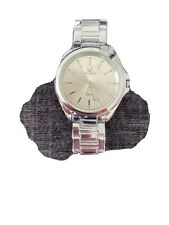 Quartz Orlando Mens Silver Strapped Watch. FREE DELIVERY.