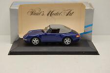 PORSCHE 911 ( 993 ) CABRIOLET SOFT TOP 1994 MINICHAMPS 1/43 NEUVE EN BOITE