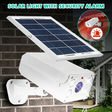 450LM LED Solar Power PIR Motion Sensor Wall Light Garden Lamp + Security