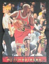 1998 UD MJX MICHAEL JORDAN MJ TIMEPIECES CHICAGO BULLS BRONZE #67 1418/2300