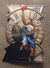 1999 00 Ultra Basketball World Premiere Wally Szczerbiak 9 Of 10 WP
