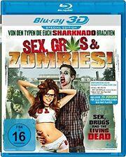 Catherine Annette/Jamie Noel/Dora pereli/+ - Sex, Grass & Zombies 3d Blu-ray NEW