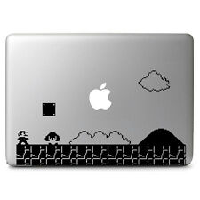 "2D Mario Game Vinyl Decal Sticker Skin for Macbook Air & Pro 11"" 13"" 15"" 17"""