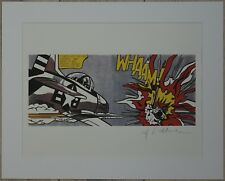 "Roy Lichtenstein ""Whaam!"" Lithograph plate signed"