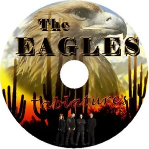 THE EAGLES BASS & GUITAR TAB CD TABLATURE GREATEST HITS BEST OF MUSIC AUDIO ROCK