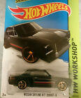 1/64 Hot wheels Black Gold Rims Nissan Skyline H/T 2000 GT-X