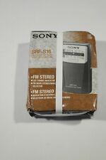 Radio portátil Sony SRF-S16 AM/FM stereo analógica, perfecta para ancianos
