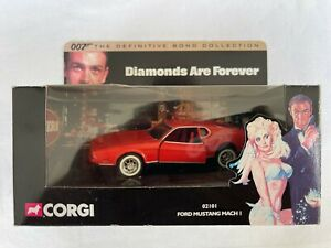 Corgi 02101 James Bond 007 Diamonds are Forever Definitive Collection Ford Musta