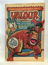 Valour #1 November 5th 1980 Marvel Comics UK Magazine Thor Dr. Strange