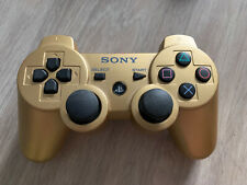 Manette Ps3 - Fonctionne - Sixasis Dualshock 3 Or Doré Gold Sony PlayStation 3