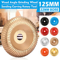 125mm Carbide Wood Sanding Carving Shaping Disc For Angle Grinder Grinding  &