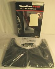 WeatherTech No-Drill Mudflaps some Chevrolet/GMC Models 07-14 Front Pair, Black