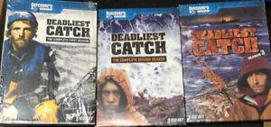 Discovery Channel - Deadliest Catch seasons  1 2 3 DVD 11 discs in total
