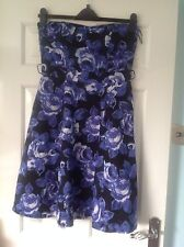 Ladies Evening/Party Dress Dress From F&F Size 12 In Good Condition