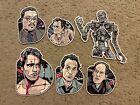 The Terminator Complete Set Of 6 Art Stickers Lot Mondo Movie Rare! Tyler Stout