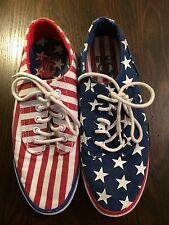 Radii unisex Footwear Sneakers Stars Stripes Flag Patriotic Red White Blue 6