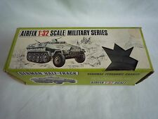 VINTAGE AIRFIX  1970'S 1:32 SCALE MILITARY SERIES GERMAN HALF-TRACK HANOMAG 1836