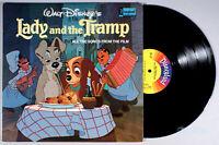 Disney - Lady and the Tramp (1964) Vinyl LP • Peggy Lee, Walt, Soundtrack